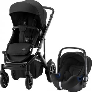 Pack poussette duo smile 3 + baby safe i-size cosmos black
