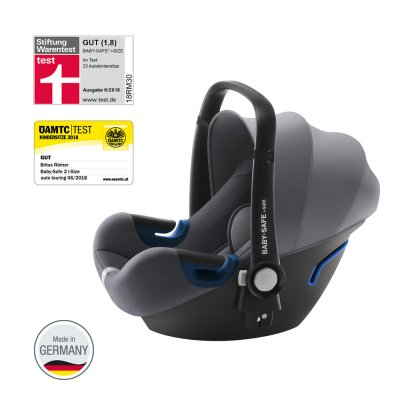 Siège auto coque baby - safe² i-size storm grey - groupe 0+ Britax
