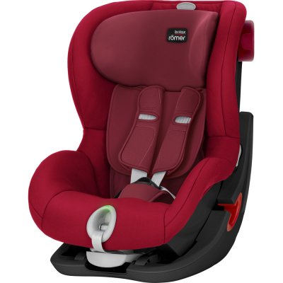 Siège auto king 2 ls black séries/flame red - groupe 1 Britax