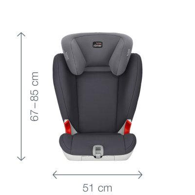 Siège auto kidfix sl sict black series/moonlight blue - groupe 2/3 Britax