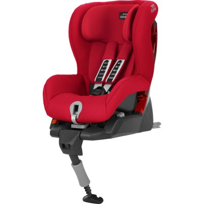 Siège auto safefix plus fire red - groupe 1 Britax