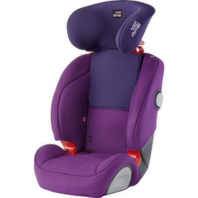 Siège auto evolva sl sict mineral purple - groupe 1/2/3 Britax