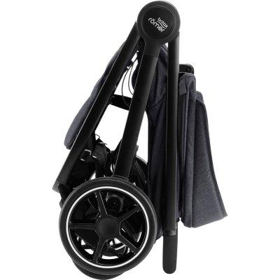 Poussette 4 roues b-agile m black shadow Britax
