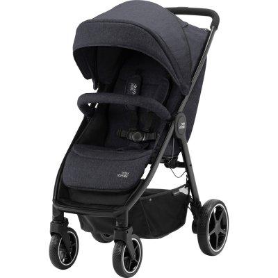 Pack poussette duo b-agile m + baby safe black Britax