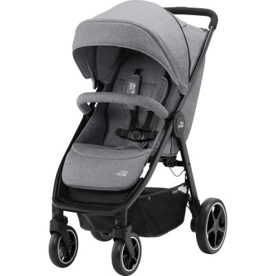 Pack poussette duo b-agile m + baby safe grey Britax
