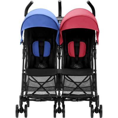 Poussette double holiday red/blue Britax
