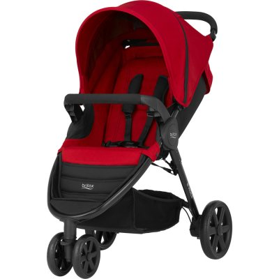Poussette 3 roues b-agile flame red Britax