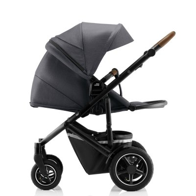 Pack poussette duo smile 3 + baby safe i-size storme grey Britax