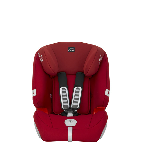 Siège auto evolva plus flame red - groupe 1/2/3 Britax