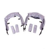 Pack couleur pour poussette kuki twin heather grey