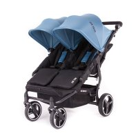 Poussette easy twin châssis black atlantic