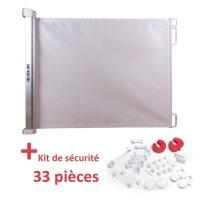 Barrière de sécurité enroulable avec kit de sécurité maison offert