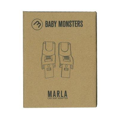 Adaptateur siège auto groupe 0 pour poussette marla Baby monsters