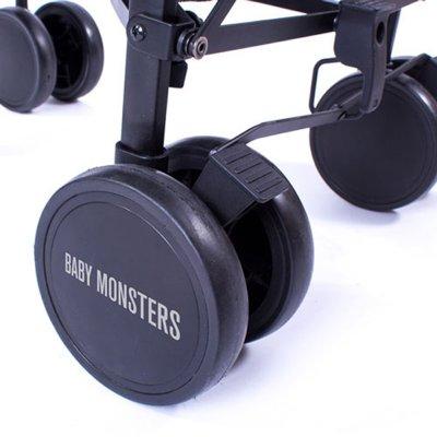 Poussette canne fast noir Baby monsters