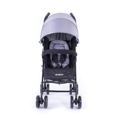 Poussette canne fast heather grey Baby monsters