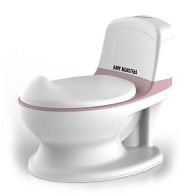 Pot d'apprentissage mon premier toilette rhino rose Baby monsters
