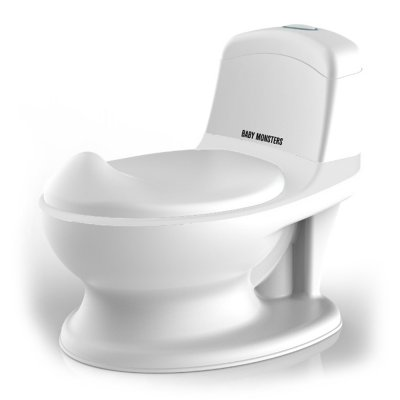 Pot d'apprentissage mon premier toilette rhino blanc Baby monsters