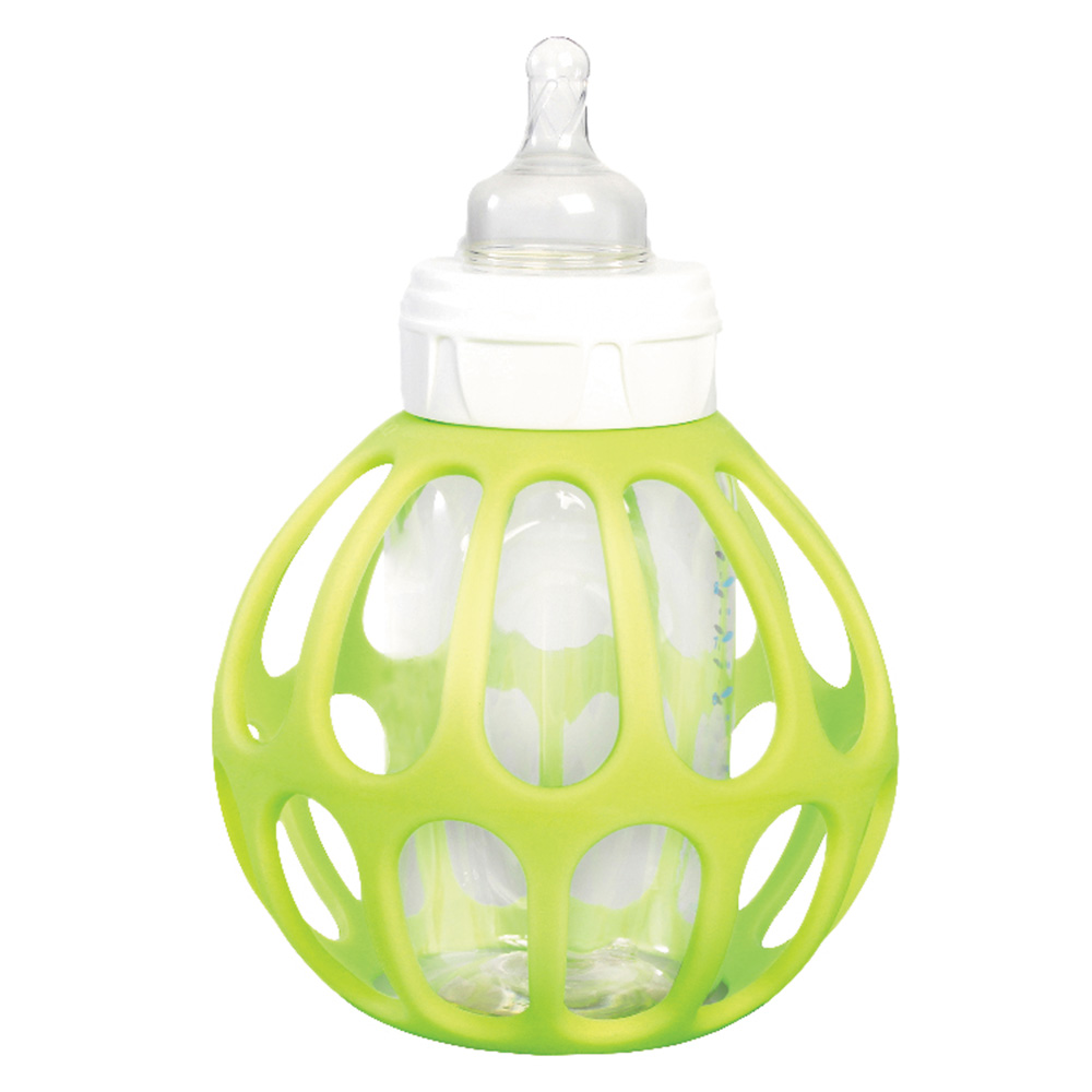 porte biberon bottle ball vert de bulle de bb chez naturab b. Black Bedroom Furniture Sets. Home Design Ideas