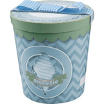 Pot de glace garçon (dors bien + bonnet + bandana) bleu pas cher