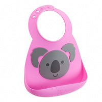 Bavoir en silicone souple koala