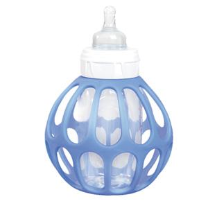 Porte biberon bottle ball bleu