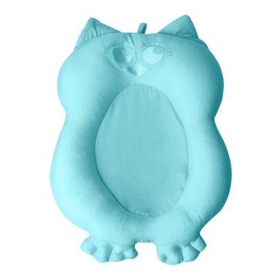 Transat de bain mon premier compagnon de bain chouette turquoise Bulle de bb