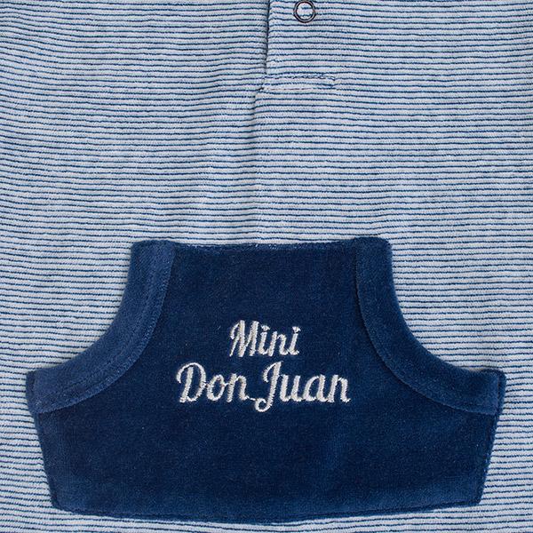 Pyjama garçon mini don juan rayé marine Bulle de bb