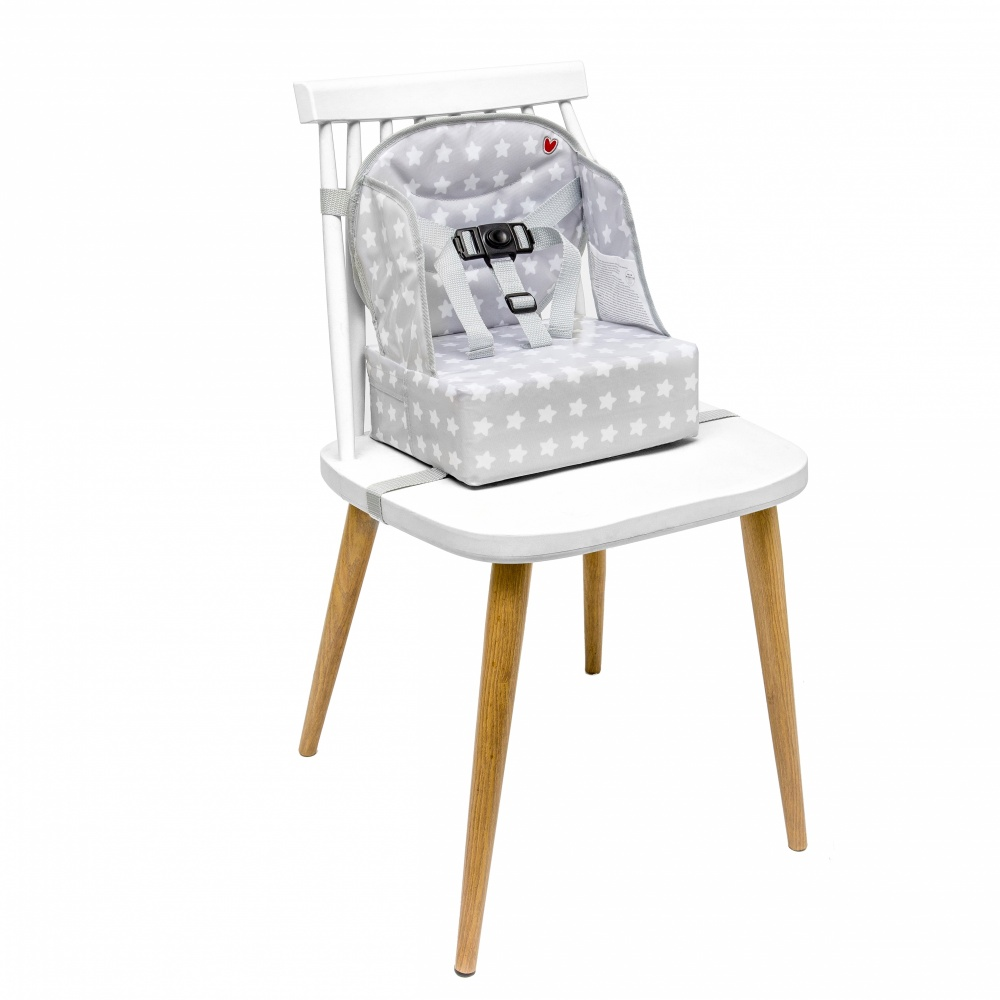 rehausseur de table b b easy up white stars de babytolove en vente chez cdm. Black Bedroom Furniture Sets. Home Design Ideas