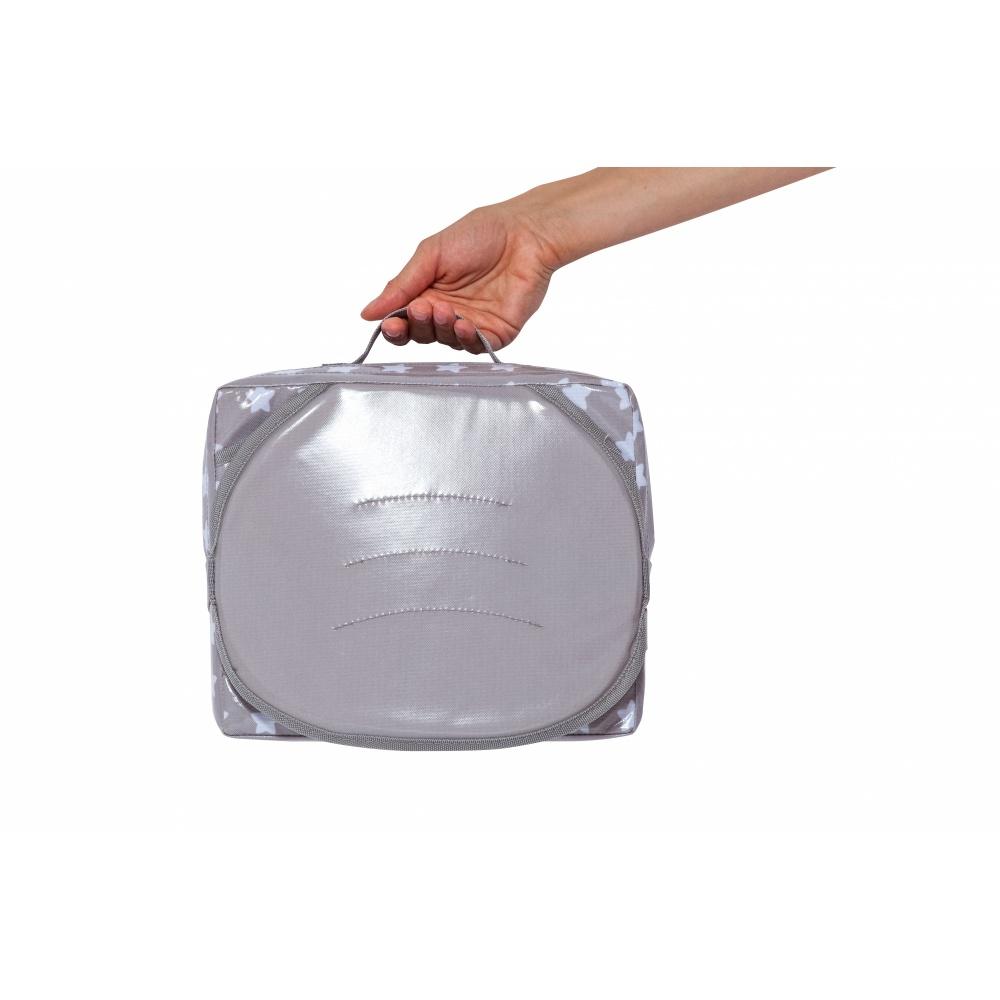 rehausseur de table b b easy up white stars de babytolove. Black Bedroom Furniture Sets. Home Design Ideas