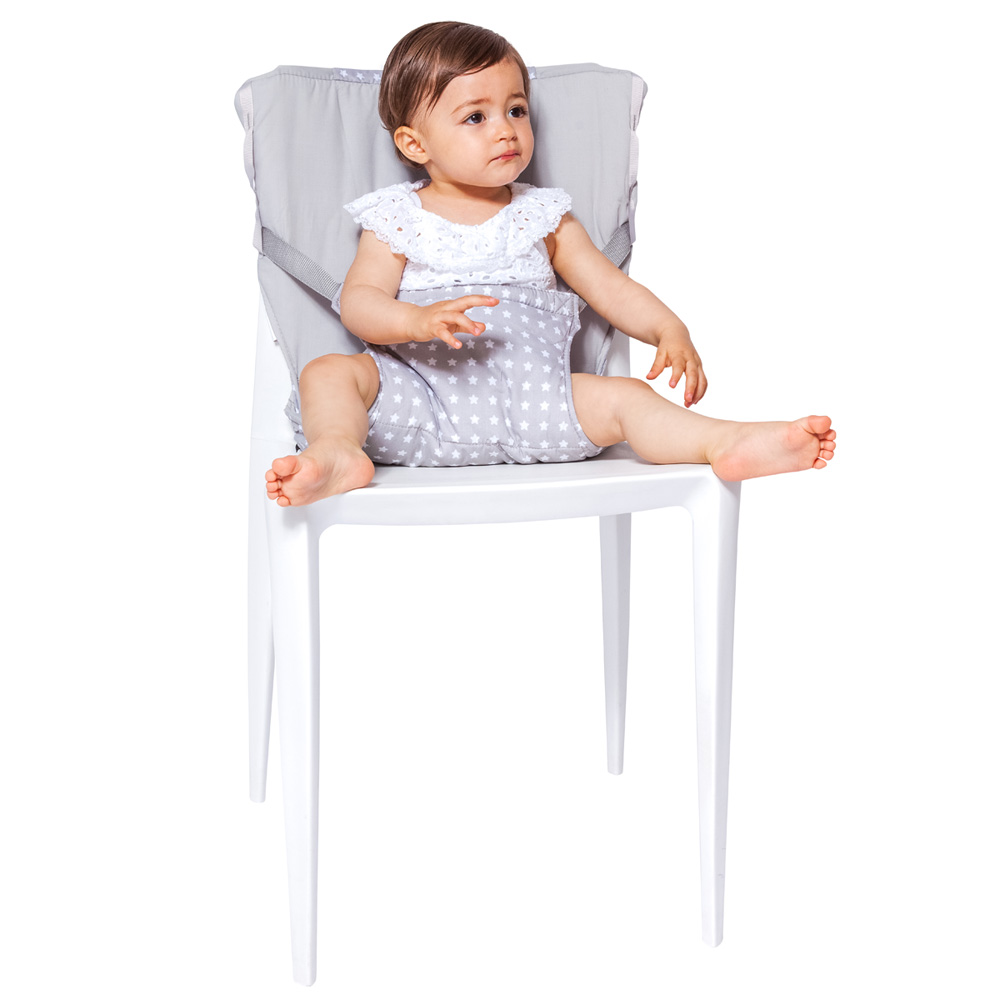 chaise nomade b b white stars de babytolove sur allob b. Black Bedroom Furniture Sets. Home Design Ideas