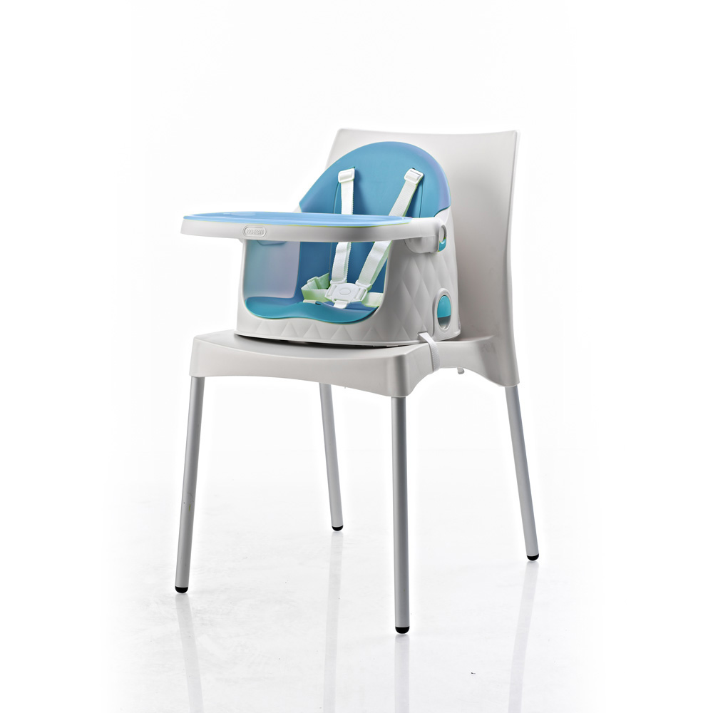 chaise haute b b multi dine 3 en 1 bleu de babytolove sur allob b. Black Bedroom Furniture Sets. Home Design Ideas