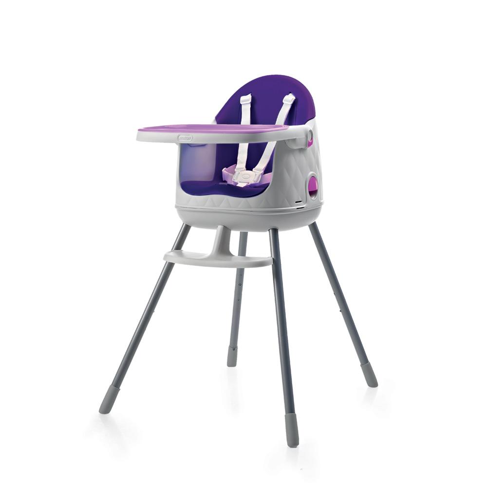 chaise haute b b multi dine 3 en 1 violet de babytolove. Black Bedroom Furniture Sets. Home Design Ideas