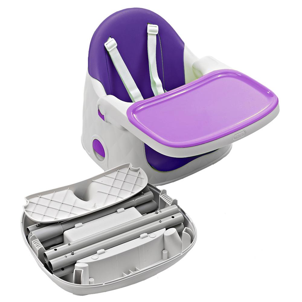 chaise haute b b multi dine 3 en 1 violet de babytolove sur allob b. Black Bedroom Furniture Sets. Home Design Ideas