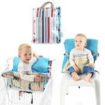 Chaise nomade bébé 2 en 1 lines spirit pas cher