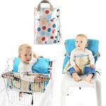 Chaise nomade bébé 2 en 1 river stone pas cher