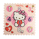 Dalles de jeu hello kitty 123 coeurs pas cher