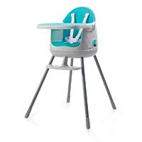 Chaise haute bébé multi dine 3 en 1 bleu