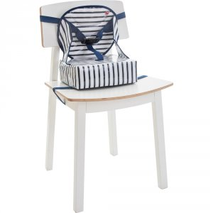 Rehausseur de chaise easy up blue stripes