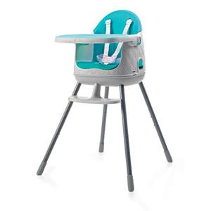 Chaise haute évolutive multi dine 3 en 1 bleu