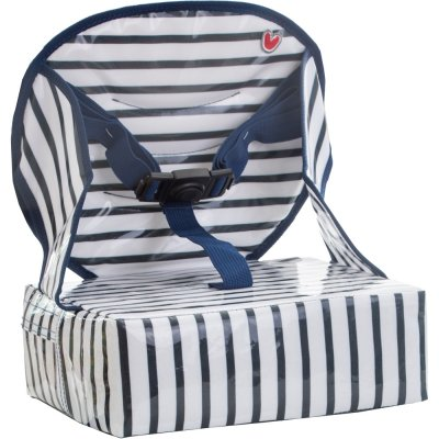 Rehausseur de chaise easy up blue stripes Babytolove