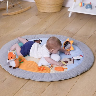 Tapis d'éveil multi-activités ferme Babytolove