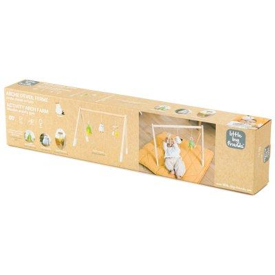 Arche d'éveil en bois ferme Babytolove