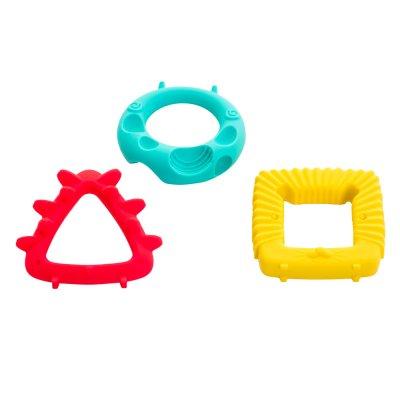 Anneau jouet de dentition animaux géométriques Babytolove
