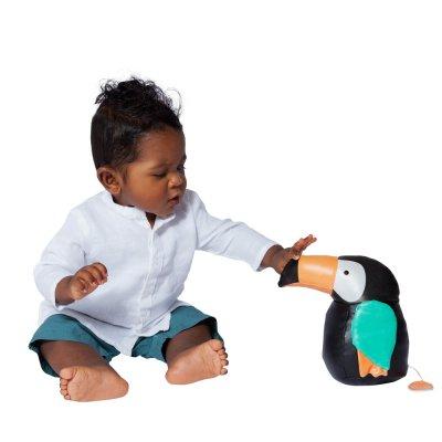 Les animaux musicaux - jean le toucan Babytolove