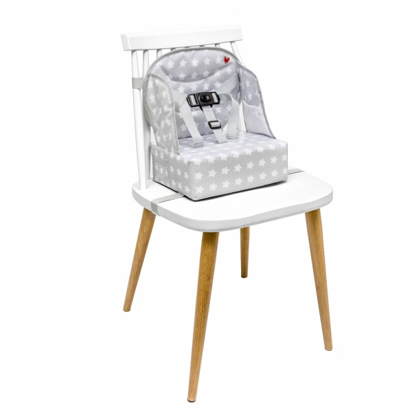 rehausseur de table b b easy up white stars de babytolove. Black Bedroom Furniture Sets. Home Design Ideas