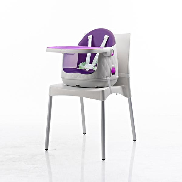 chaise haute b b multi dine 3 en 1 violet 20 sur allob b. Black Bedroom Furniture Sets. Home Design Ideas