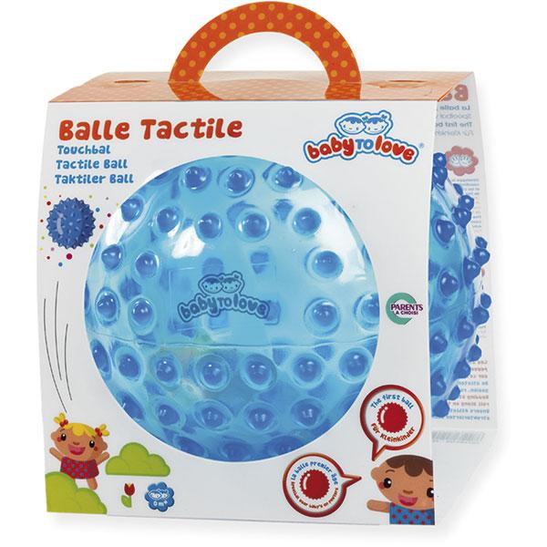 Jouets d'éveil bébé balle transparente tactile Babytolove