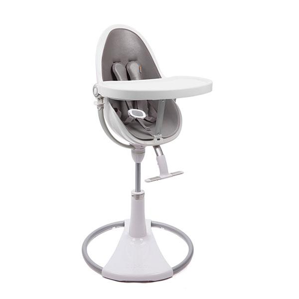 Châssis chaise fresco chrome blanc Bloom