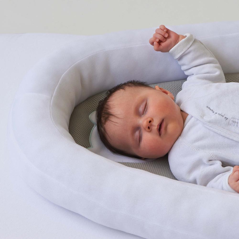 cale b b r ducteur b b nest air blanc de candide en. Black Bedroom Furniture Sets. Home Design Ideas