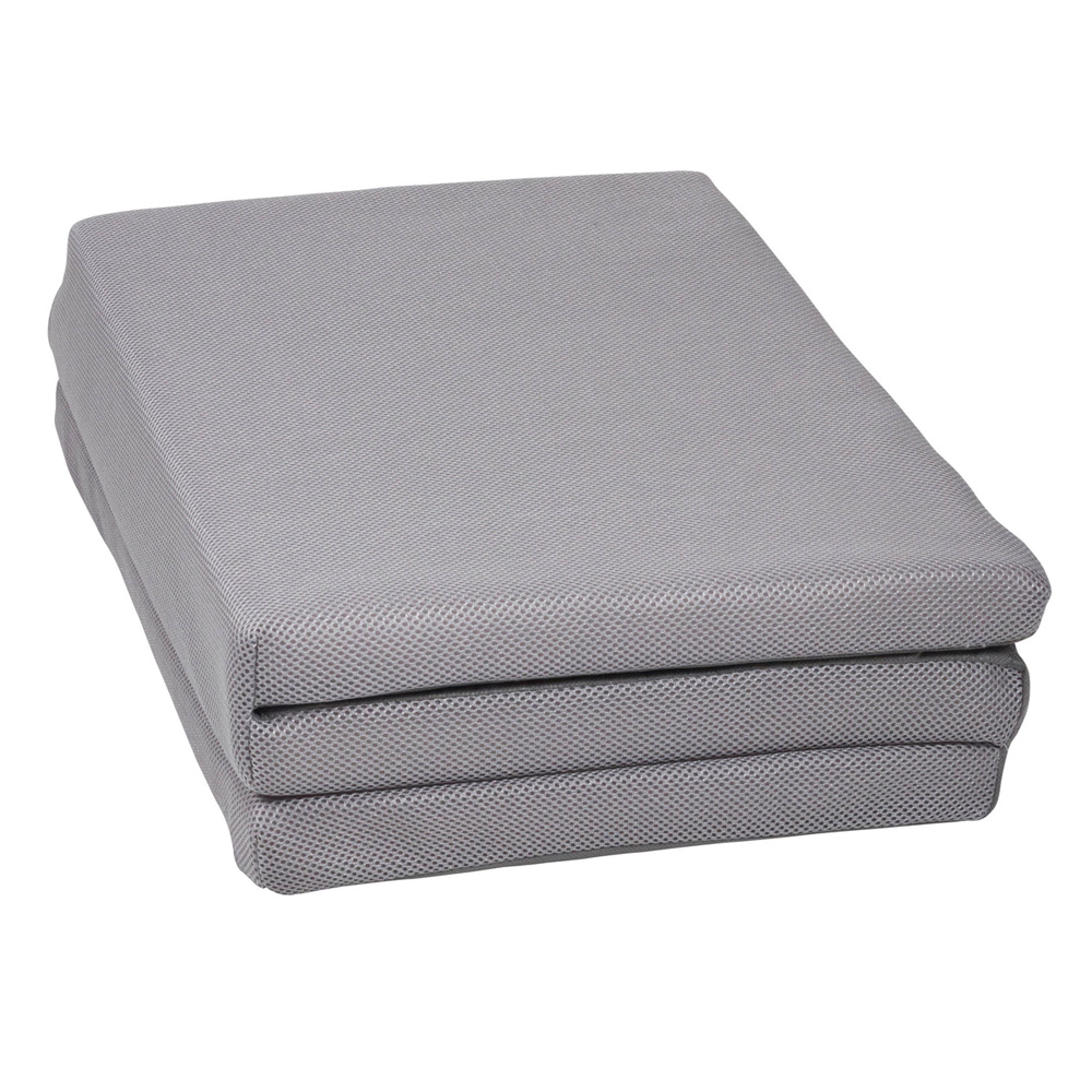 matelas pliant air gris de candide chez naturab b. Black Bedroom Furniture Sets. Home Design Ideas